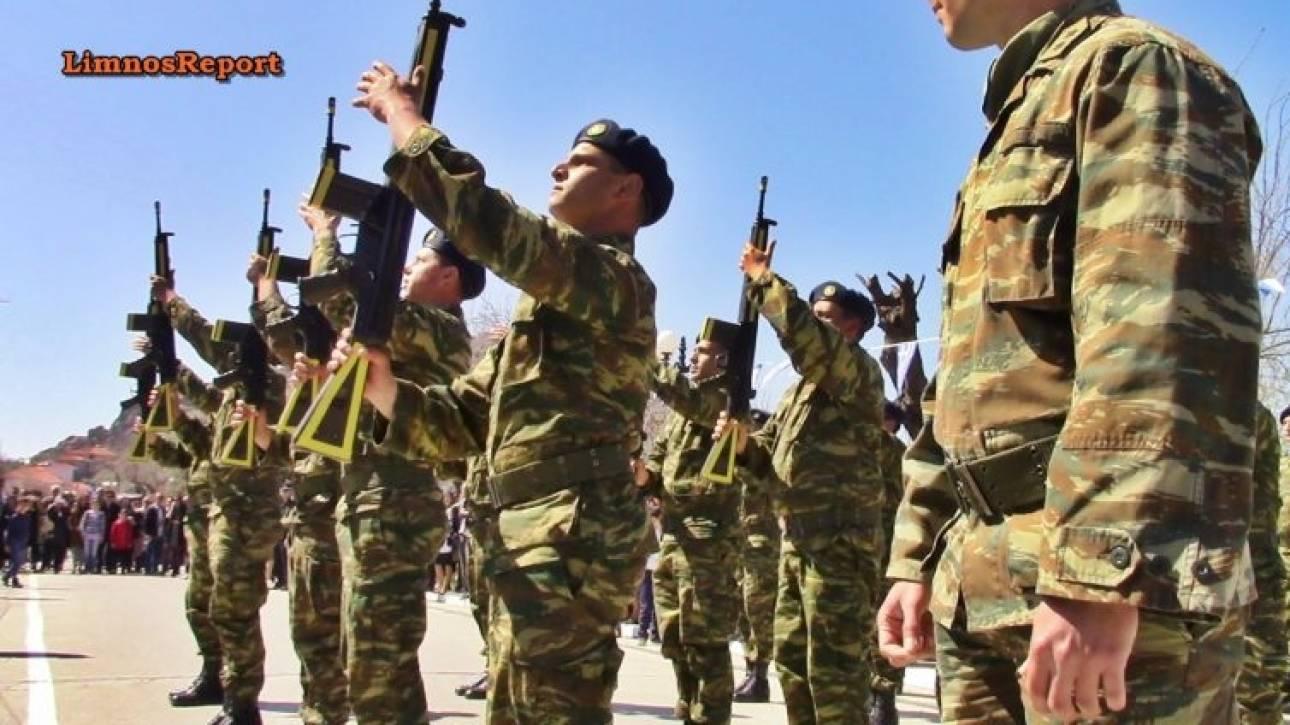 Εντυπωσιακή στρατιωτική Παρέλαση στη Λήμνο (pics&vids)