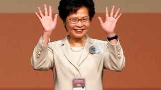 Η Κάρι Λαμ επικεφαλής της κυβέρνησης του Χονγκ Κονγκ