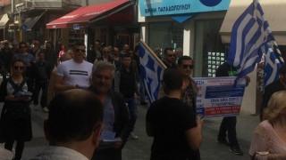 Υποστηρικτές του Αρτέμη Σώρρα διαδηλώνουν στην Τρίπολη (pics)