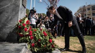 Τσίπρας: Ο Νίκος Μπελογιάννης είναι ένας ήρωας που παρέμεινε πιστός στις αρχές του