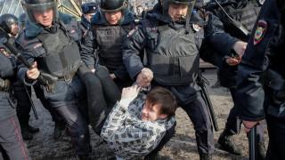 «Όχι» της Ρωσίας σε ΕΕ και ΗΠΑ για την απελευθέρωση των διαδηλωτών
