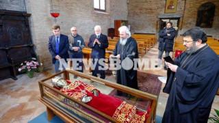 Στην Αθήνα για πρώτη φορά το λείψανο της Αγίας Ελένης