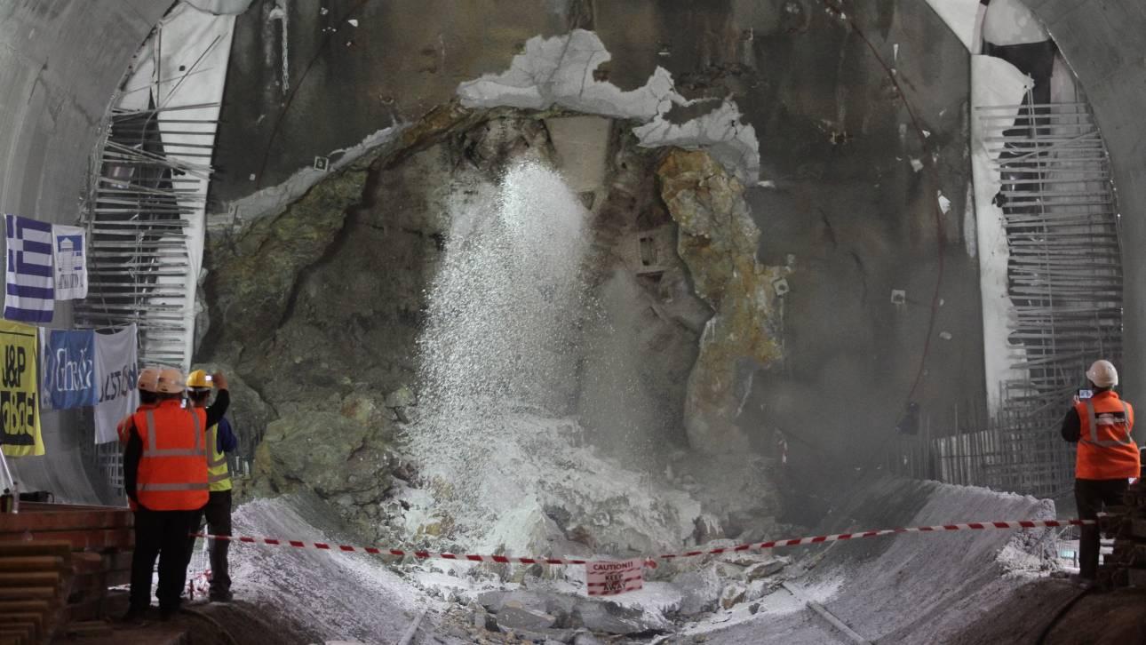 Την Κυριακή θα ολοκληρωθεί η διάνοιξη της δεύτερης σήραγγας του Mετρό Θεσσαλονίκης