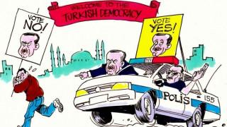 Latuff κατά Ερντογάν με νέο σκίτσο
