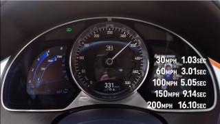 Δείτε τη Bugatti Chiron να πιάνει τα 320 χλμ./ ώρα σε 16,1 δευτερόλεπτα (vid)
