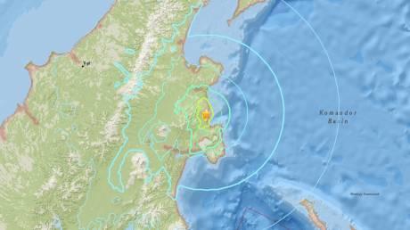 Μεγάλος σεισμός στην ανατολική Ρωσία