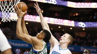 NBA: Μπακς για Play Offs στη Σάρλοτ με Αντετοκούνμπο και Σνελ (vid)