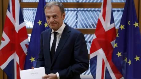 Brexit: Στα χέρια του Τουσκ η επιστολή της Μέι