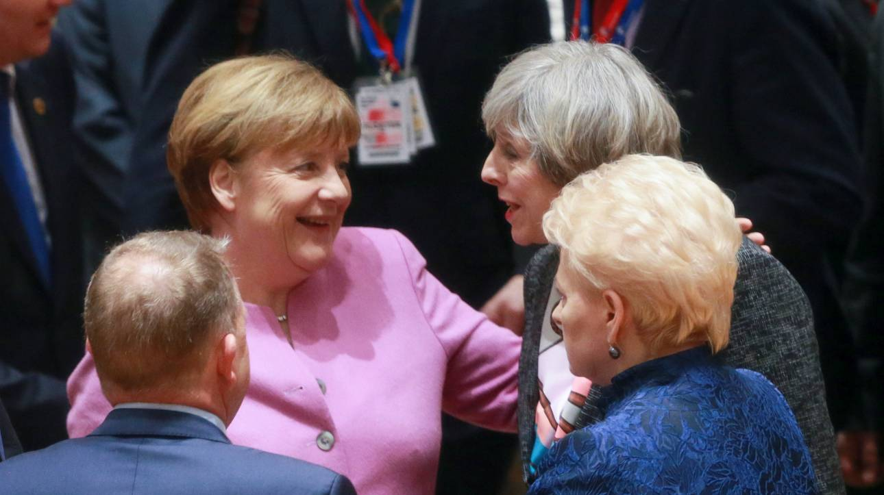 Brexit: Δίκαιες και ισορροπημένες διαπραγματεύσεις ζητά η Μέρκελ