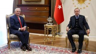 Συνάντηση Ερντογάν – Τίλερσον στην Άγκυρα με επίκεντρο την τρομοκρατία
