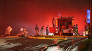 Τμήμα λεωφόρου στην Ατλάντα καταρρέει μετά από φωτιά (pics)