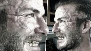 Ποιος σακάτεψε το πρόσωπο του Ντέιβιντ Μπέκαμ;