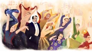 Ο Sergei Diaghilev πρωταγωνιστής του Google Doodle (vids)