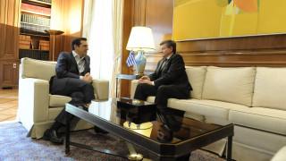 Αισιοδοξία Τσίπρα για καλή συμφωνία κατά την συνάντηση με τον γενικό διευθυντή του ILO