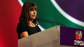 Το καυστικό σχόλιο της Σβίγκου για τη συνάντηση Μητσοτάκη-Γεννηματά