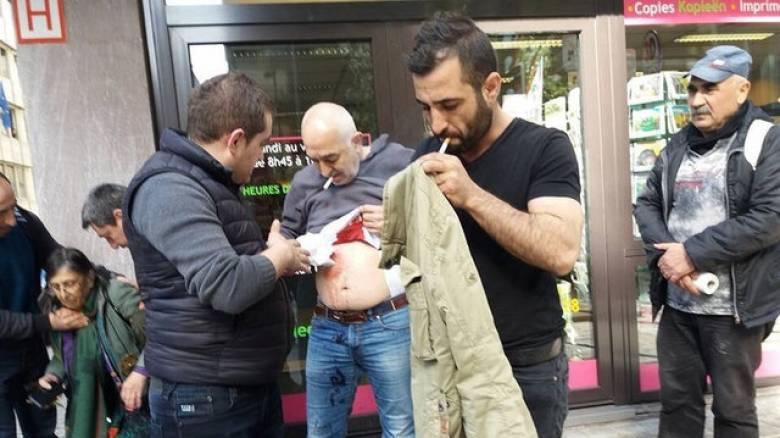 Βρυξέλλες: Έξι τραυματίες από τις συγκρούσεις έξω από το τουρκικό προξενείο