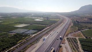 Δόθηκε στην κυκλοφορία η μεγάλη σήραγγα της Παναγοπούλας στην Ολυμπία Οδό