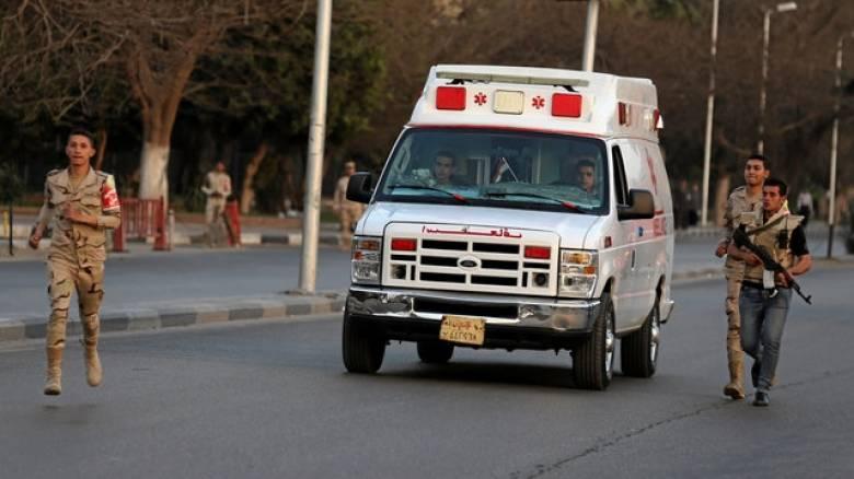 Αίγυπτος: 16 τραυματίες από έκρηξη βόμβας