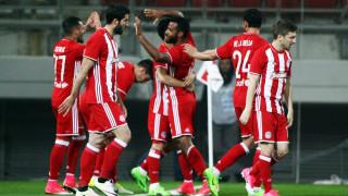 Super League: Νίκη του Ολυμπιακού επί του Πλατανιά στο ντεμπούτο Λεμονή