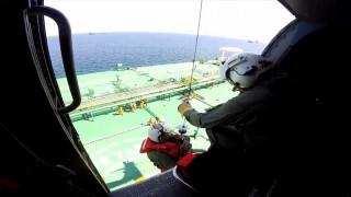 Αεροδιακομιδή ασθενούς με τη συνδρομή του Πολεμικού Ναυτικού  (pics&vid)