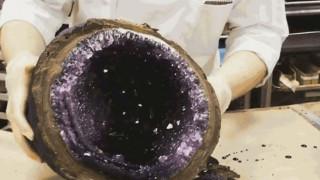 Δε φαντάζεστε τι είναι αυτό το εντυπωσιακό γεώδες πέτρωμα (Pic+Vid)