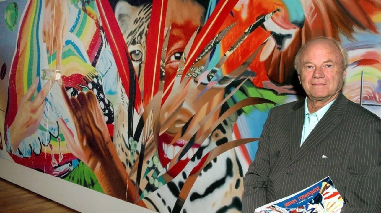 Πέθανε ο James Rosenquist, πρωτοπόρος της Pop Art