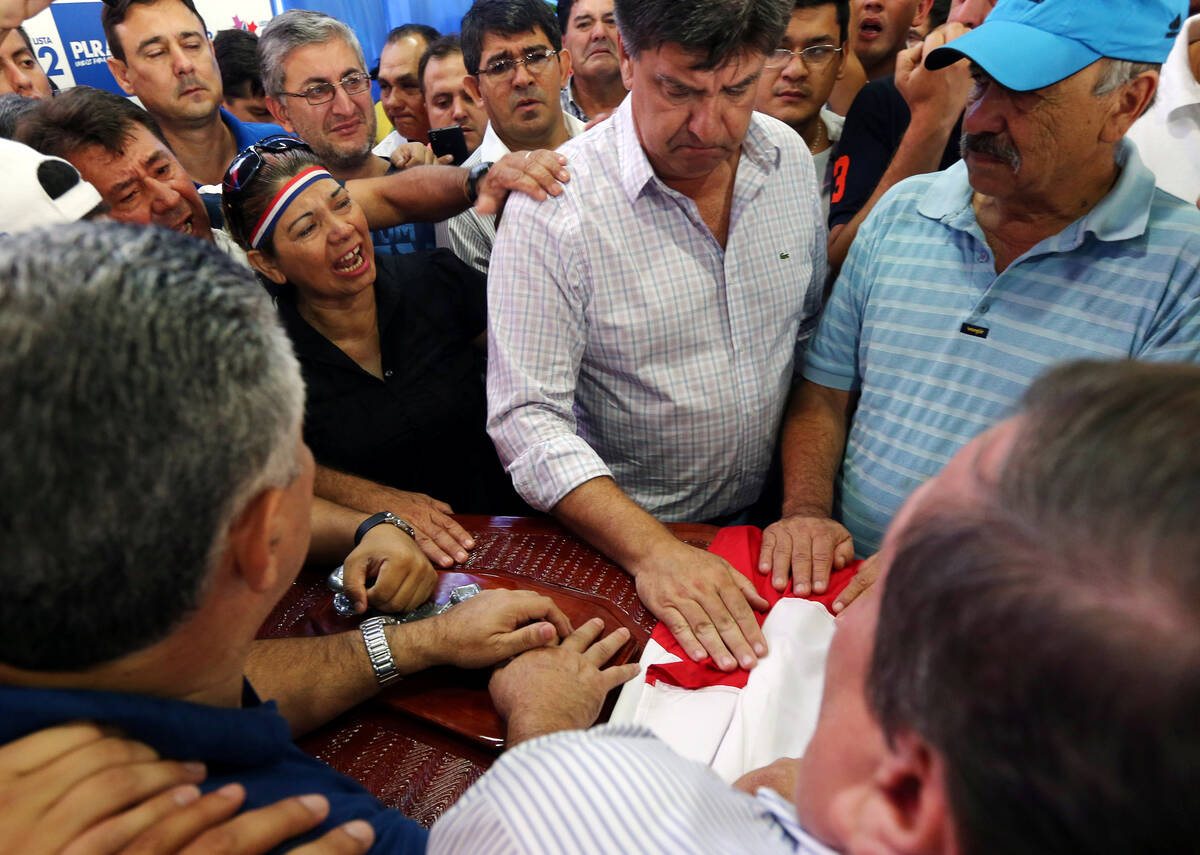 2017 04 01T155523Z 457557898 RC1145A50880 RTRMADP 3 PARAGUAY PRESIDENT