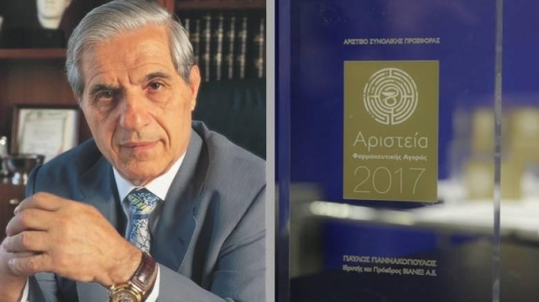 Ο Παύλος Γιαννακόπουλος τιμήθηκε από τον Φαρμακευτικό Σύλλογο Αττικής