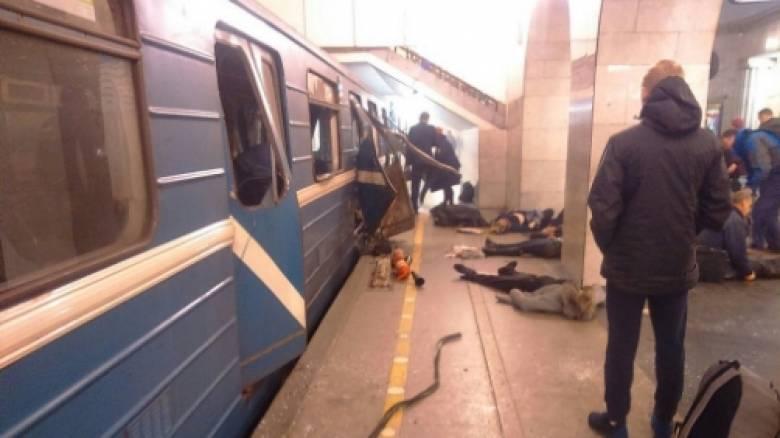 LIVE εικόνα από το μετρό στην Αγία Πετρούπολη