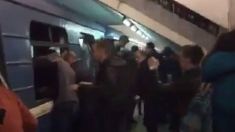 Έκρηξη Αγία Πετρούπολη: Συγκλονιστικό βίντεο από το βαγόνι