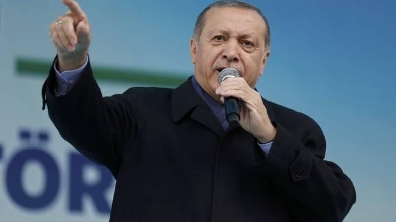 «Εγγόνια του ναζισμού» αποκάλεσε τους Ευρωπαίους ο Ερντογάν