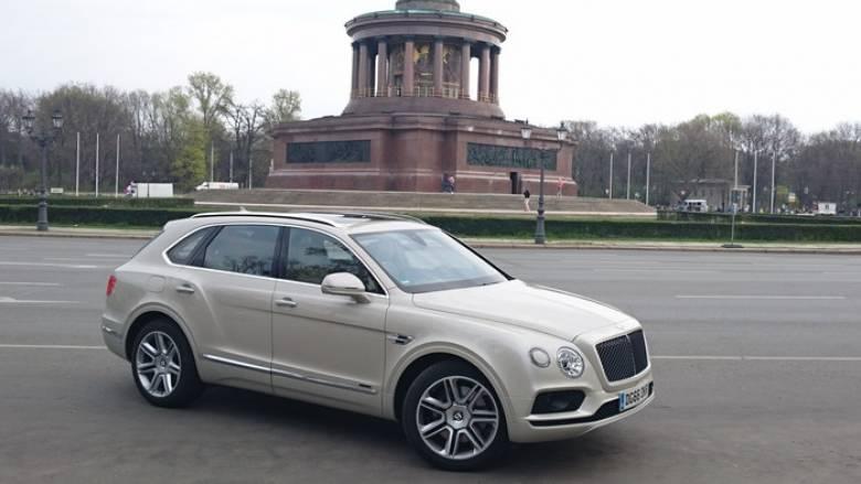 Η Bentley Bentayga είναι το high end των SUV