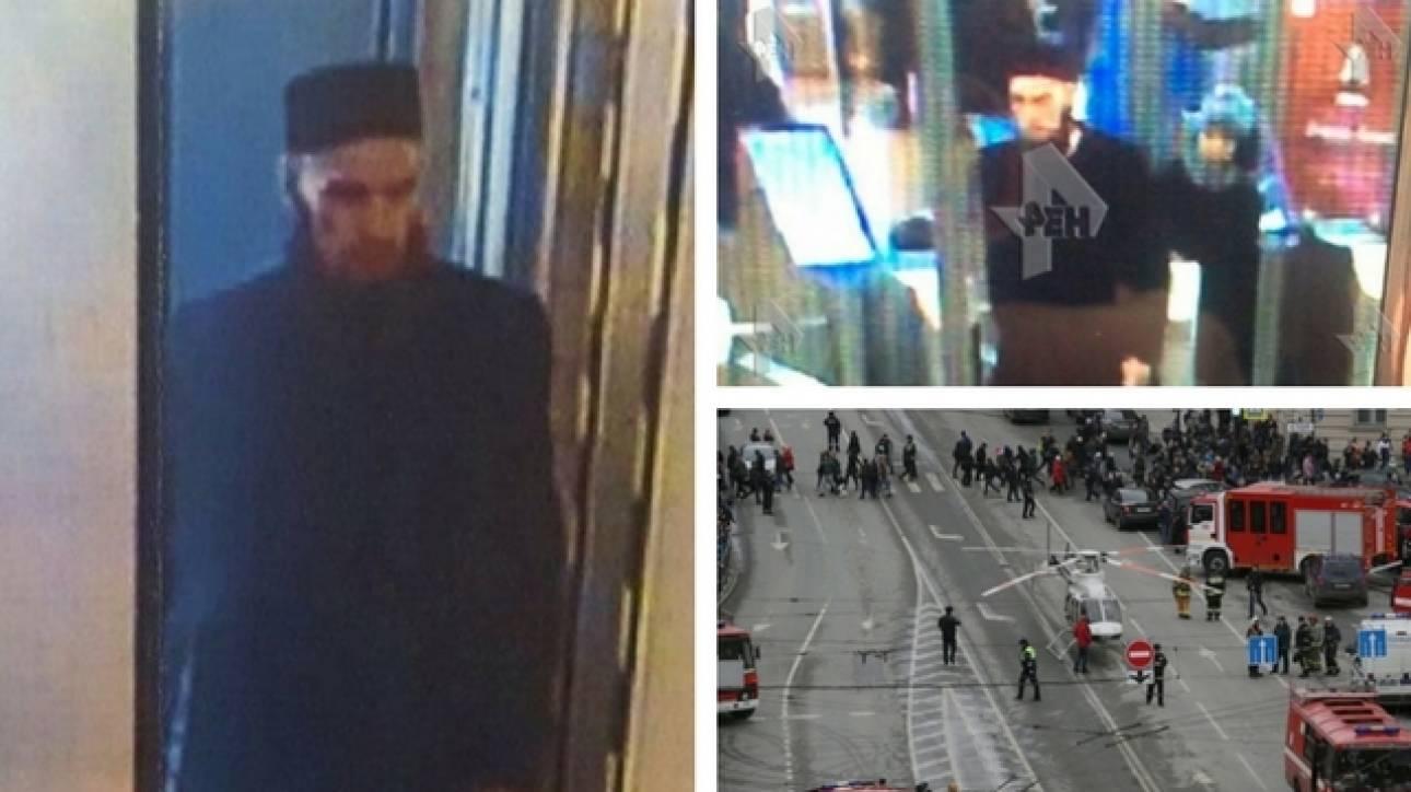 Έκρηξη στην Αγία Πετρούπολη: Βίντεο ντοκουμέντο με τον φερόμενο ως τρομοκράτη