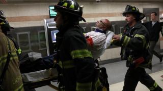 Εκτροχιασμός τρένου στη Νέα Υόρκη με τέσσερις τραυματίες (pics)