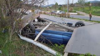 Αυτοκίνητο έπεσε πάνω σε στάση λεωφορείου στη Θεσσαλονίκη (pics&vids)