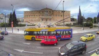 Χωρίς τρόλεϊ για πέντε ώρες η Αθήνα