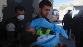 Συρία: Επίθεση με «τοξικό αέριο» σκότωσε δεκάδες αμάχους