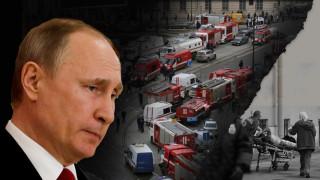 Αγία Πετρούπολη: Μήνυμα στον Βλαντιμίρ Πούτιν το χτύπημα
