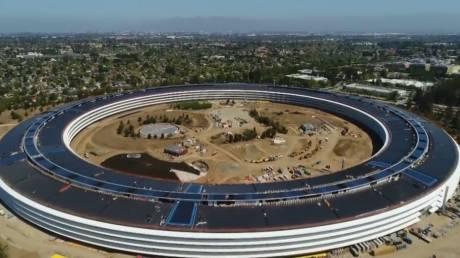 Έτοιμο το διαστημικό campus της Apple