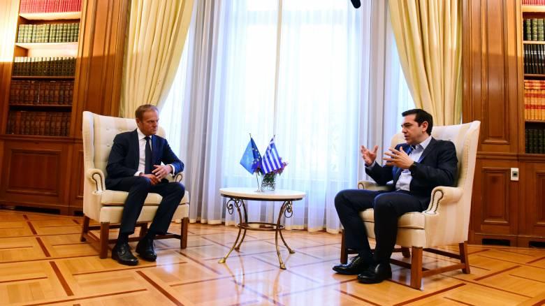 Έκτακτη Σύνοδο Κορυφής σε περίπτωση που δεν κλείσει η αξιολόγηση, ζήτησε ο Τσίπρας