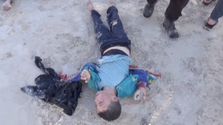 Μέρκελ: Έγκλημα πολέμου η χημική επίθεση στη Συρία