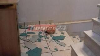 Σεισμός Πάτρα: Αναστάτωση και ζημιές σε φροντιστήριο (pics)