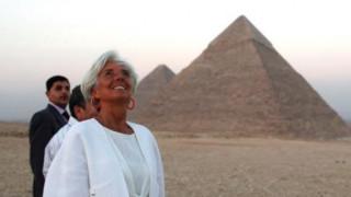 Ανησυχεί η Λαγκάρντ για τον πληθωρισμό της Αιγύπτου