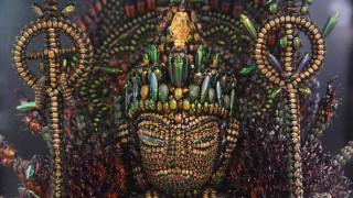 Το βουδιστικό γλυπτό που κατασκευάστηκε από 20.000 σκαθάρια (pic)