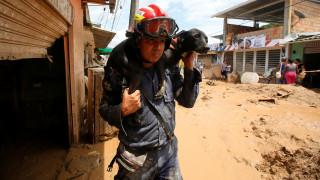 Κολομβία: Ανεβαίνει ο αριθμός των νεκρών από τη θεομηνία (pics)