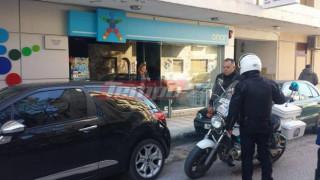 Πάτρα: Ένοπλη ληστεία σε πρακτορείο - Σοκ υπέστη ο ιδιοκτήτης (pics)