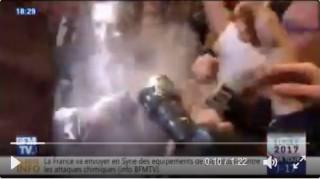 Γαλλία: Αλευρώσαν τον Φιγιόν στο Στρασβούργο (vid)