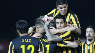 Super League: Η ΑΕΚ νίκησε τον Πλατανιά και χάνει το Λαμπρόπουλο