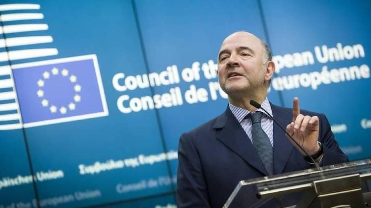 Μοσκοβισί: Δεσμεύσεις από όλες τις πλευρές για την επίτευξη συμφωνίας