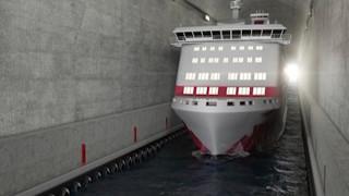 Το πρώτο τούνελ για πλοία